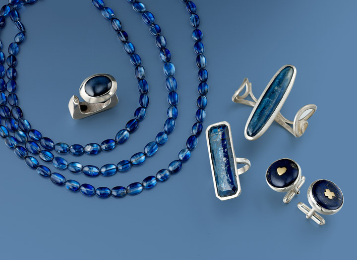 VAJ collection | Just One Look | Cobalt Blue and Navy