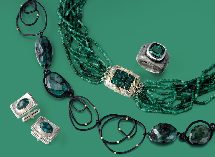 VAJ collection | Just One Look | Green