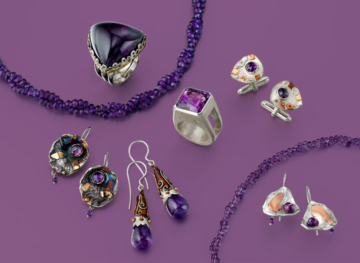 VAJ collection | Just One Look | Purple is Passionate
