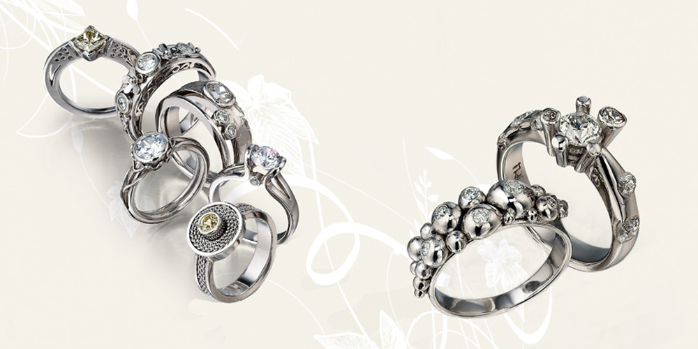 Veronica Anderson Jewellery Collection   BESPOKE ENGAGEMENT RINGS - 2011