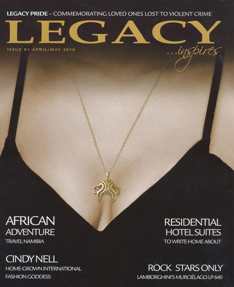 Veronica Anderson press | Legacy Apr May 2010