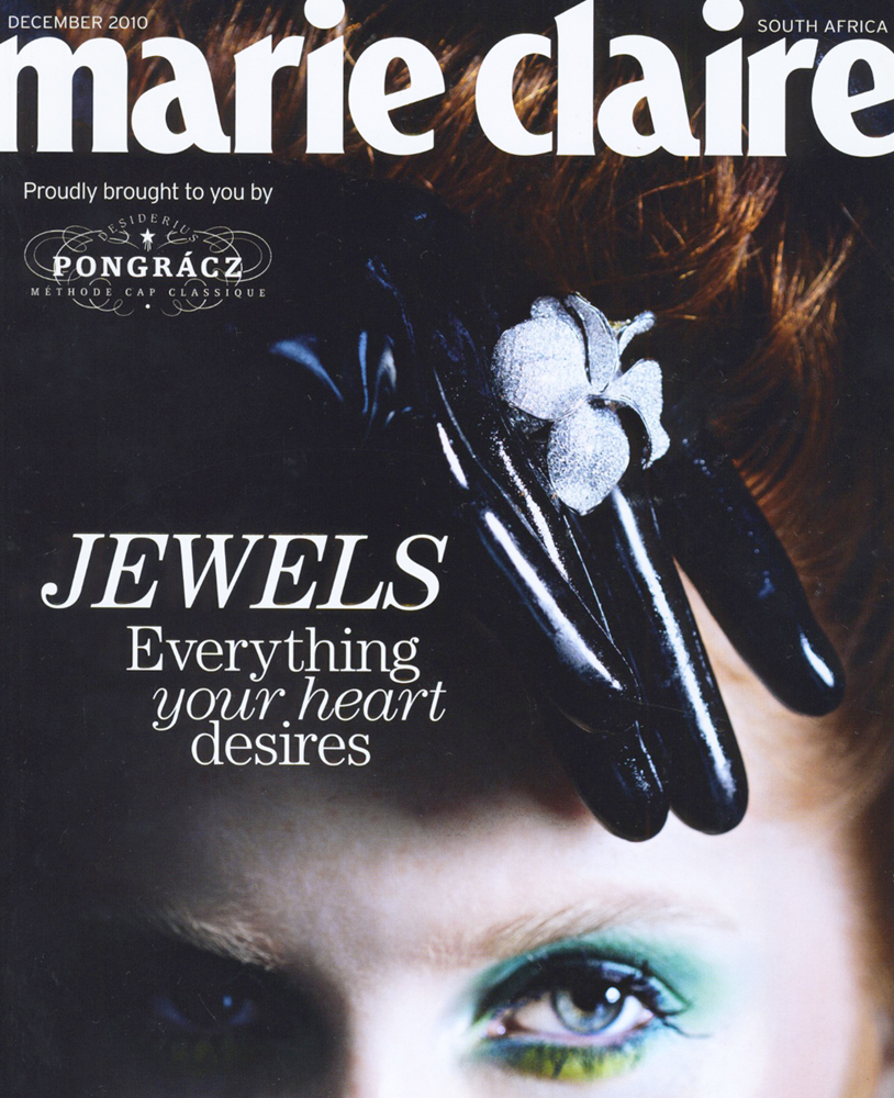 Veronica Anderson press | Marie Claire Dec 2010