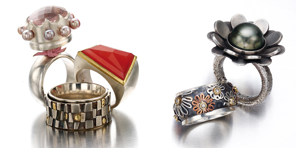 Veronica Anderson Jewellery Collection | GOBSMACKING RINGS - 2007