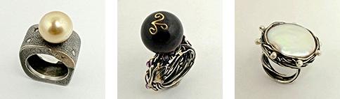 VAJ | Signature Pearl Rings