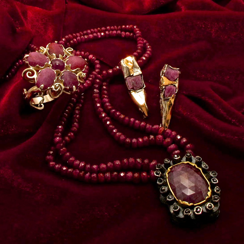Rubies | Could there be a more bewitching colour?