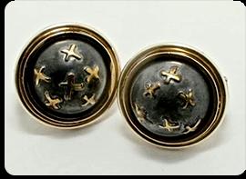 Upcycle jewellery earrings