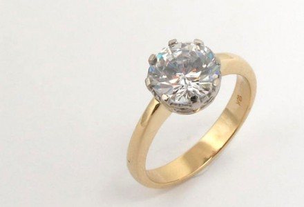 Your diamond ring - old