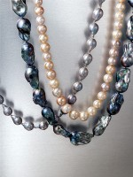 Pearls, the various types