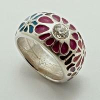 Remodeled diamond ring
