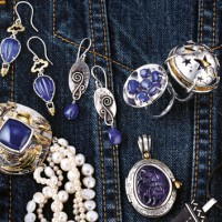 Veronica Anderson Jewellery Collection | PAINTING THE TOWN BLUE