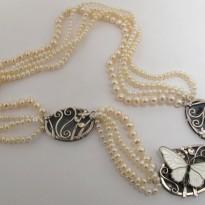 VAJ | Enamel Butterfly Brooch, circa 1930.