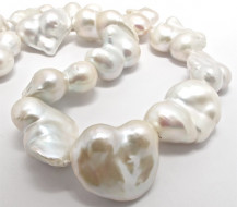 Freshwater Pearls – Large Baroque Heart Shapes. – R13,800