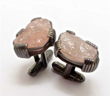 In the pink with Sterling Silver and Rose Quartz