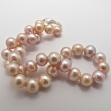 Freshwater Pearls with a Natural Peachy Colour – Baroque. R6,200