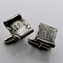 Cufflink | Engraved – for laughs!