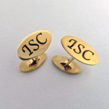 Cufflinks | 18ct Gold – classic design