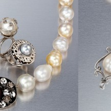 Veronica Anderson Jewellery Collection | PLATINUM AND PEARLS - 2009