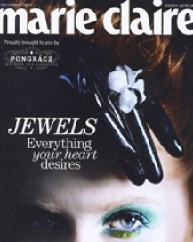 Veronica Anderson press | Marie Claire Dec 2010