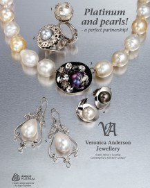 Veronica Anderson Reail Collection | PLATINUM & PEARLS!