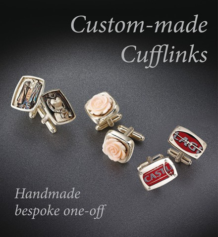 Custom Made Cufflinks | VAJ
