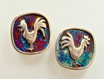 Cufflink | 2015 Chinese year of the Rooster