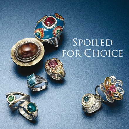 Spoiled for Choice - Tourmaline Rings