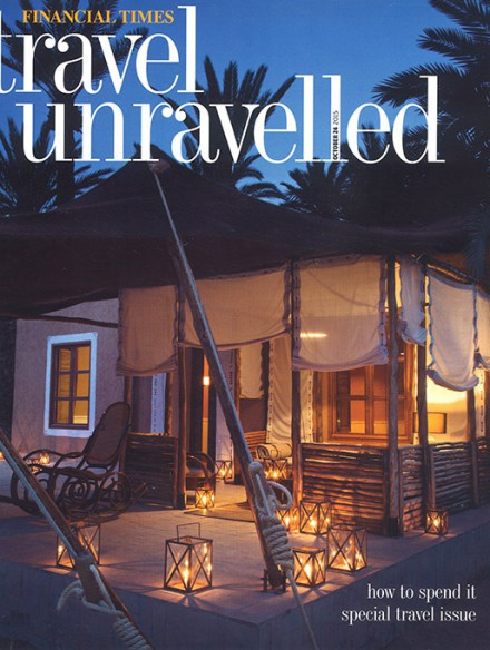 Financial Times - Travel Unravelled | Cover