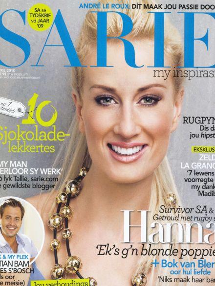 Veronica Anderson press | Sarie Apr 2010