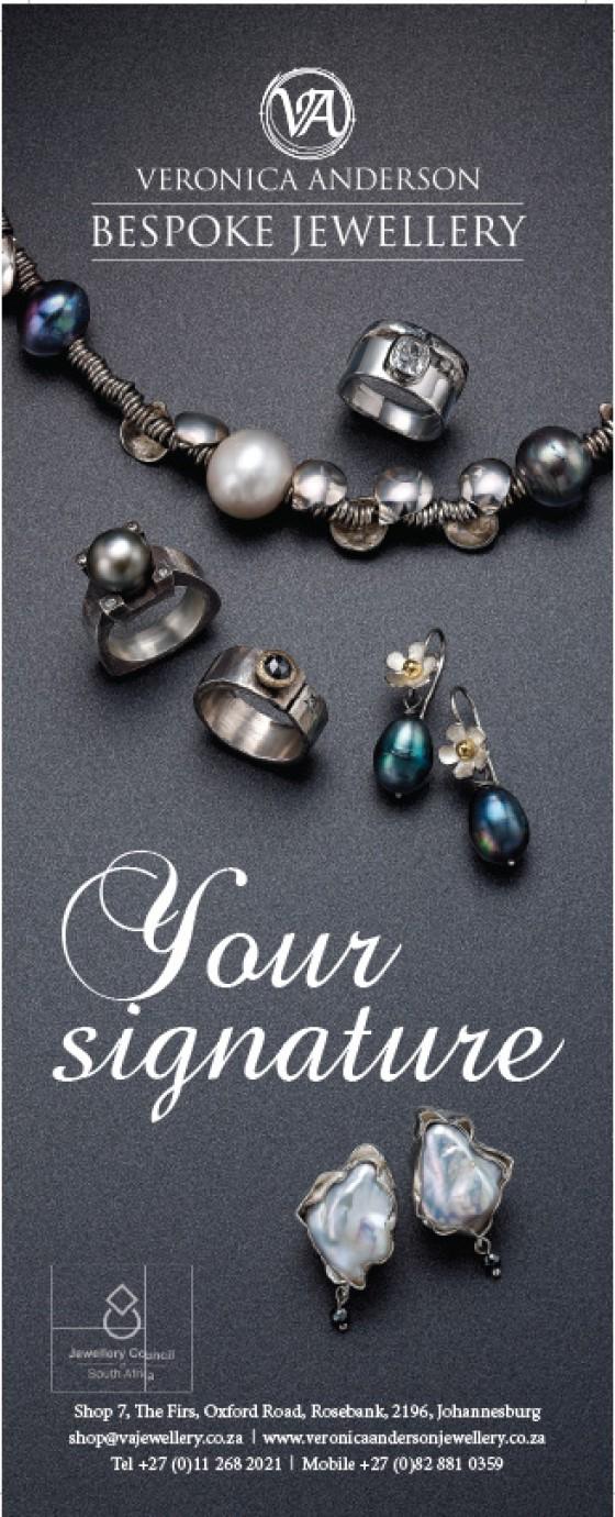 VAJ bespoke signature jewellery