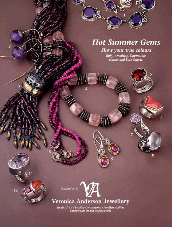 Veronica Anderson Reail Collection | HOT SUMMER GEMS 2010