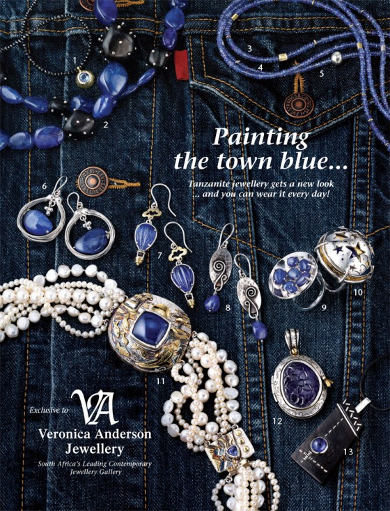 Veronica Anderson Retail Collection | PAINTING THE TOWN BLUE ...