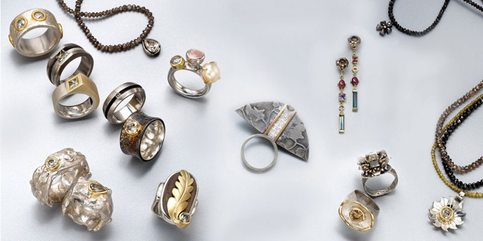 Veronica Anderson Jewellery Collection   DOWN TO EARTH DIAMONDS - 2008