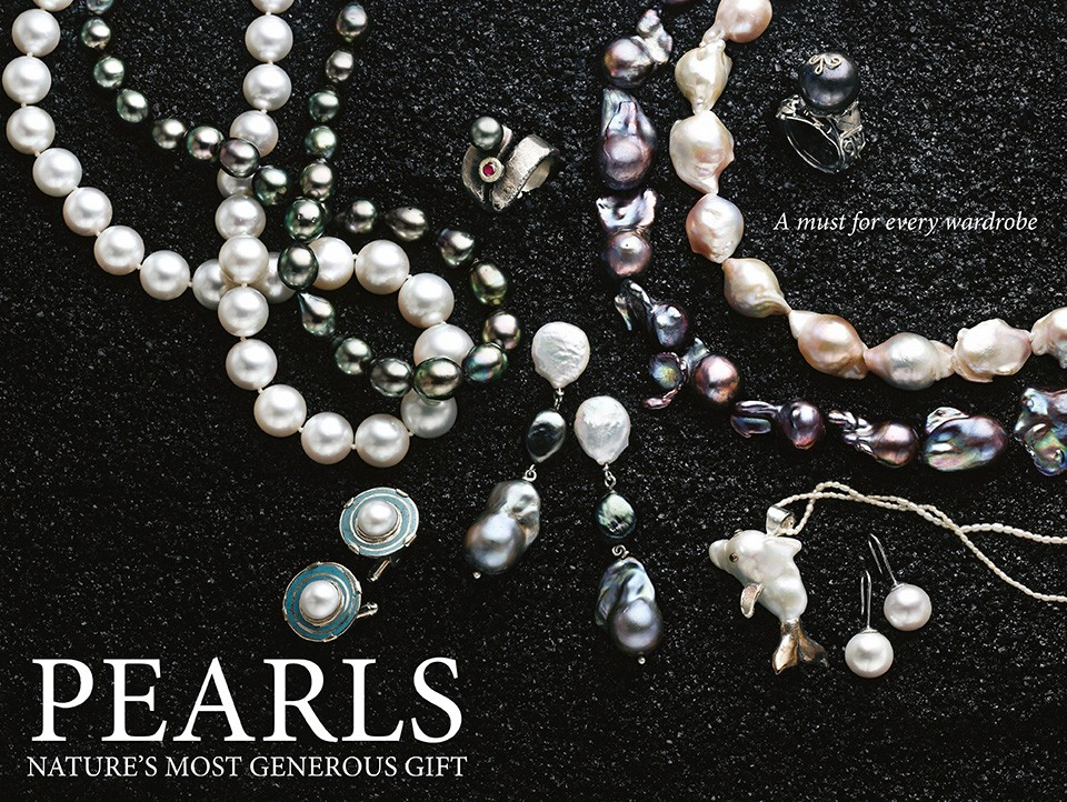 Pearl Necklaces and Other Pearl Jewellery