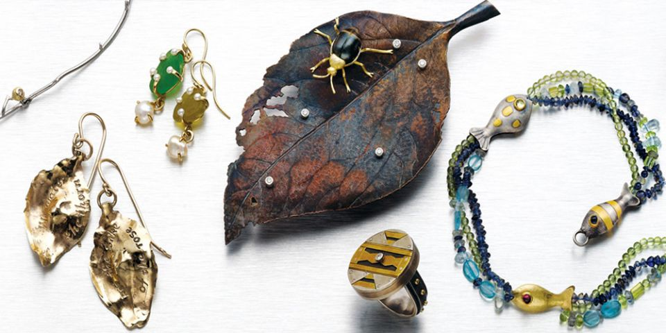 Veronica Anderson Jewellery Collection | UP THE GARDEN PATH - 2006